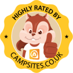 Highly Rated by Campsites.co.uk