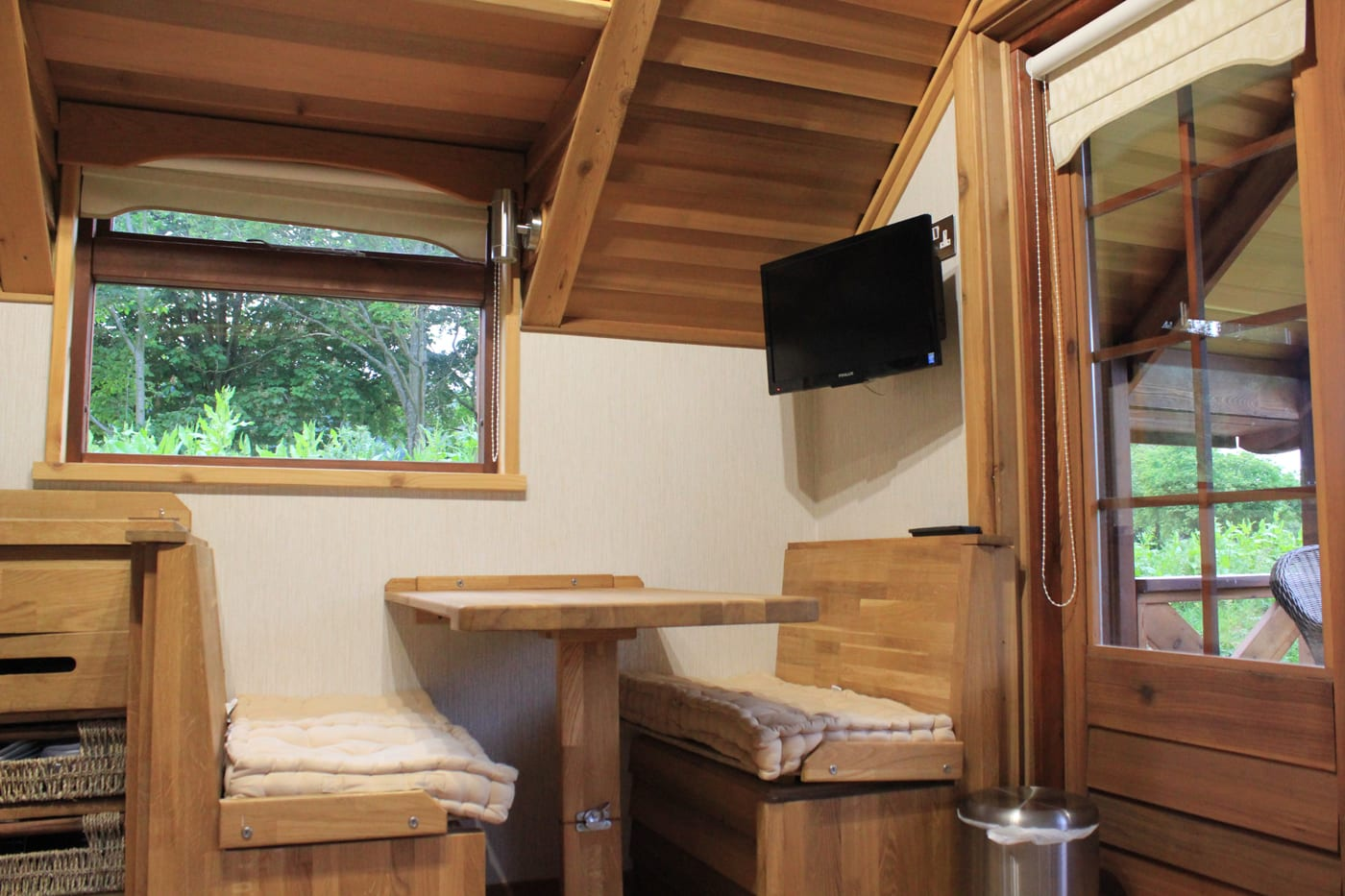 Swiss Farm Touring Park - Glamping Cabins