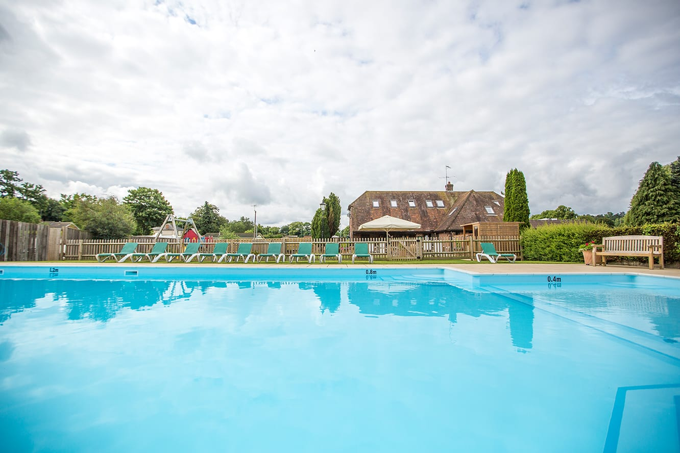 Swiss Farm Touring Park - Large Outdoor Heated Swimming Pool